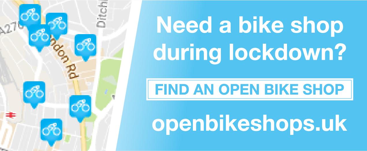 Find an open bike shop