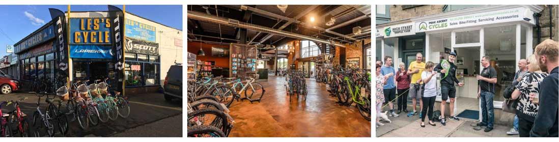 Local bike shop day history
